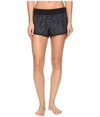 Hurley Supersuede Printed Beachrider Boardshorts Black T 1 Women's Swimwear
