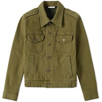 Dries Van Noten Venn Military Jacket Green