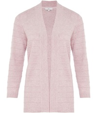 Cc Edge To Edge Cashmere Blend Cardigan Lilac
