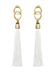 Kilian Playing With The Devil Scented Silk Tassel Earrings .