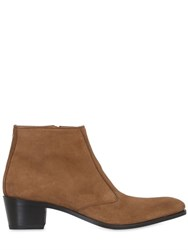 Simon Fournier 50Mm Suede Ankle Boots