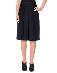 Imperial Star Imperial Knee Length Skirts Dark Blue