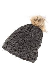 Vero Moda Vmgry Hat Dark Grey Melage Dark Gray