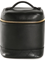Chanel Vintage Vertical Cosmetic Bag