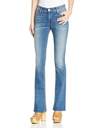 True Religion Jennie Curvy Bootcut Jeans In Boot Rolling Indigo