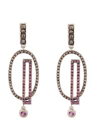 Fabrizio Riva Natural White Gold Earrings