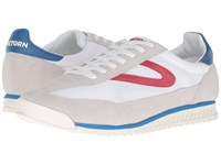 Tretorn Rawlins 3 White Red Blue Men's Lace Up Casual Shoes Multi
