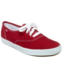 Keds Women's Champion Oxford Sneakers Women's Shoes Red