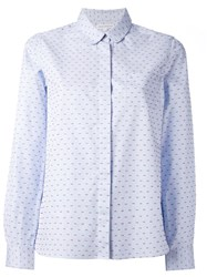 Chinti And Parker Peter Pan Shirt Blue