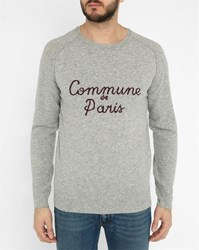 Commune De Paris Grey Chaillot Sweater