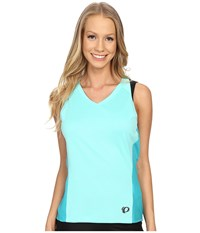 Pearl Izumi Launch Sleeveless Jersey Aqua Mint Women's Sleeveless Blue
