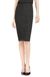 Vince Camuto Women's Cable Knit Pencil Skirt