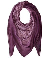Lauren Ralph Lauren Lola Purple Scarves