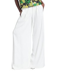 Tracy Reese Belted Wide Leg Pants Calla Lily