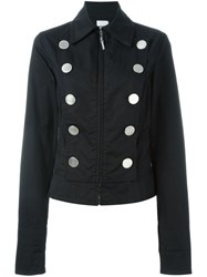 Moschino Vintage Fitted Jacket Black