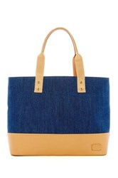 Ugg Pacific Leather Trimmed Denim Tote Nsnd