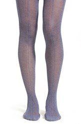 Women's Lemon 'Heather Water Net' Open Knit Tights