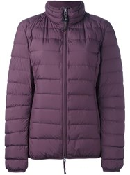 Parajumpers 'Geena' Puffa Jacket Pink And Purple