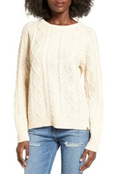 Obey Women's Freja Cable Pullover