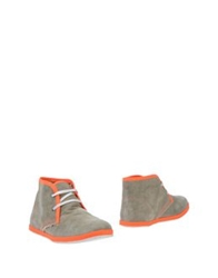 Le Crown Ankle Boots Grey
