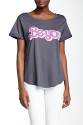 Signorelli Be You Rolled Sleeve Tee Black