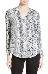 Soft Joie Women's 'Dane' Snake Print Button Front Blouse