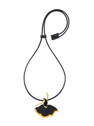 Marni Dancer Pendant Necklace Black