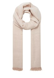 Hallhuber Flat Woven Fabric Salt And Pepper Scarf