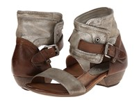 Miz Mooz Cali Pewter Women's Sandals