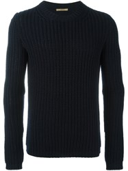 Nuur Ribbed Sweater Blue
