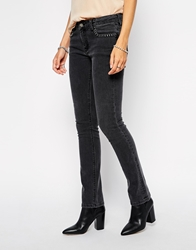 Zadig And Voltaire Zadig And Voltaire Jeans With Skull Rivets Grey