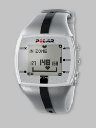 Polar Ft4 Men's Heart Rate Monitor Watch Grey