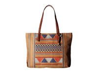 Lucky Brand Cassis Top Zip Tote Multi Tote Handbags