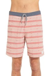 Men's Katin 'Net' Board Shorts Gate Red