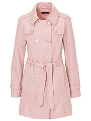Betty Barclay Cotton Trench Coat Hushed Violet