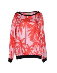 Fausto Puglisi Blouses Red