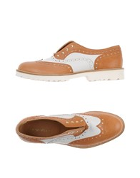 Lemare Footwear Moccasins Women Tan