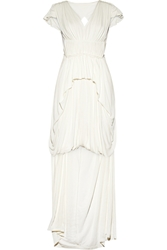 Sophia Kokosalaki Philotes Pleated Stretch Crepe Gown