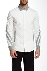General Idea Quilted Jacket White