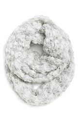 Women's Renee's Accessories Marled Chunky Knit Infinity Scarf Ivory Ivory Mix