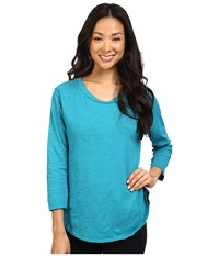 Fresh Produce Catalina Shirt Teal Women's Clothing Blue