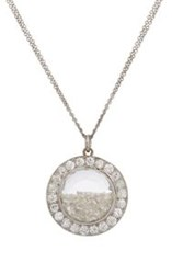 Renee Lewis Shake Pendant Necklace Colorless
