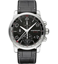 Montblanc 107336 Timewalker Chronograph Watch Steel