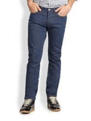Marc By Marc Jacobs Straight Leg Jeans Marine