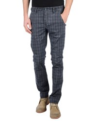 Camouflage Ar And J. Trousers Casual Trousers Men Slate Blue