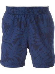 Carhartt 'Drift' Swim Shorts Blue