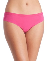Dkny Solid Microfiber Hipsters Pink