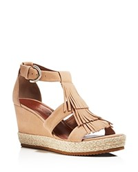 Bernardo Kaya Fringe Wedge Sandals