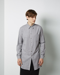 Forme D'expression Binded Long Shirt Grey