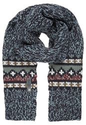 Replay Scarf Blue Mouline Jaquard
